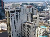 Looking over Vegas Strip Stock Image