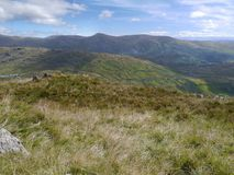 Looking over Woundale to Ill Bell, Lake District Royalty Free Stock Image
