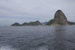 Looking at Rio de Janeiro Sugar Loaf Mountain. Brazil Royalty Free Stock Image