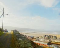 Looking down on Barmouth 3 royalty free stock photos