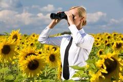 Free Looking Through Binoculars Royalty Free Stock Photography - 10726527