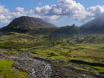 Looking to Aaron Crags, Lake District Royalty Free Stock Photo