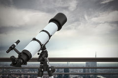Looking to the future. 3D Rendering Royalty Free Stock Photo