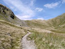 Looking to Hause Gap by Seat Sandal Stock Photography