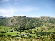 Looking to Helm Crag over Town Head, Lake District Stock Photo