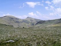 Looking to The Old Man of Coniston Stock Photos