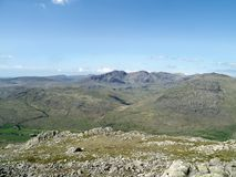 Looking to Scafells, Lake District Stock Image