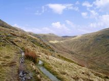 Looking to Scandale Head near Ambleside Stock Photo