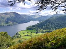 Looking to the south end of Ullswater, Lake District Stock Images