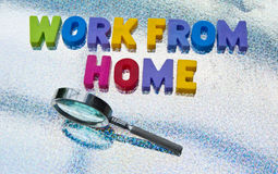 Looking to work from home Stock Image