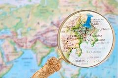 Looking in on Tokyo, Japan Stock Image