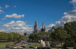 Looking Toward Center City, Philadelphia Royalty Free Stock Photography