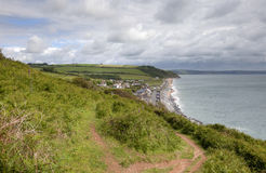 Looking towards Beesands Stock Images