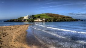 Looking towards Burgh Island Bigbury-on-sea Royalty Free Stock Image