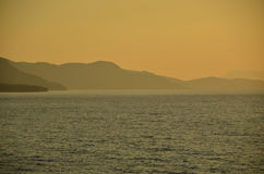 Looking towards Samos Stock Images