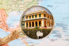 Looking in on Trinidad, Cuba Royalty Free Stock Photography