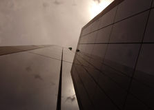 Looking Up. A building Royalty Free Stock Images