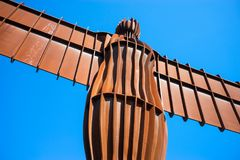 Angel of the North Stock Image