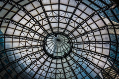 Free Looking Up At A Dome Inside A Building In Philadelphia, Pennsylvania. Stock Photo - 47757740