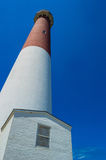 Looking Up Barnegat Lighthouse Stock Photography