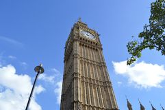 Looking up at Big Ben Stock Images