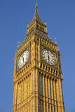 Looking up at Big Ben Clock Tower Royalty Free Stock Photography