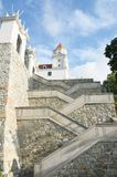 Looking up at Bratislava Castle Royalty Free Stock Photo