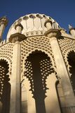 Looking up at Brighton Pavilion Stock Photography