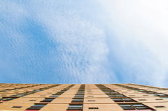 Looking up building Royalty Free Stock Image