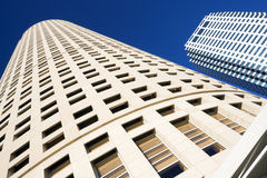 Looking up in Downtown Tampa Stock Photography