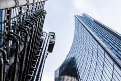 Looking Up In The Early Morning, Lloyds of London Stock Photography