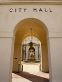 City Hall Archway Entrance Royalty Free Stock Photos