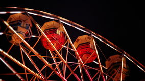 Looking Up At Ferris Wheel stock footage