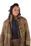 Looking up fire Stock Images