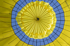 Looking up inside a Hot Air Balloon Royalty Free Stock Photos