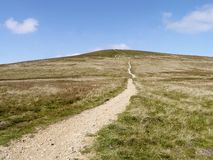 Looking up path to Stybarrow Dodd, Lake District Stock Image