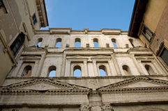 Looking up at the porta borsari Stock Photography