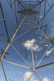 Looking up through a Pylon Stock Images