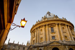 Looking up at Radcliffe Camera, Oxford, UK Royalty Free Stock Photo