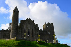 Looking Up At the Rock of Cashel Stock Photography
