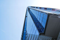 Looking up at the Shard of Glass in London Royalty Free Stock Photo