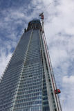 Looking up at The Shard London Royalty Free Stock Photography