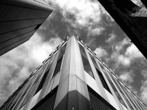 Looking up at a skyscraper Stock Photos