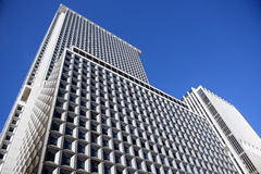 Looking up a skyscraper office block Royalty Free Stock Image