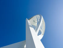 Looking up at spinnaker tower Royalty Free Stock Photography