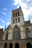 Looking Up at St Johns College Chapel Tower Royalty Free Stock Photo