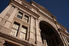 Looking up at texas capitol Royalty Free Stock Photography