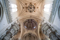 Church in Toledo. When looking up to the roof of Toledo church Royalty Free Stock Photography