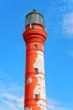 Looking up at the towering Paldiski. Estonia Royalty Free Stock Photos