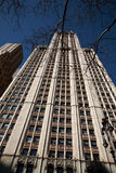 Looking up at The Woolworth Building, New York Royalty Free Stock Photography